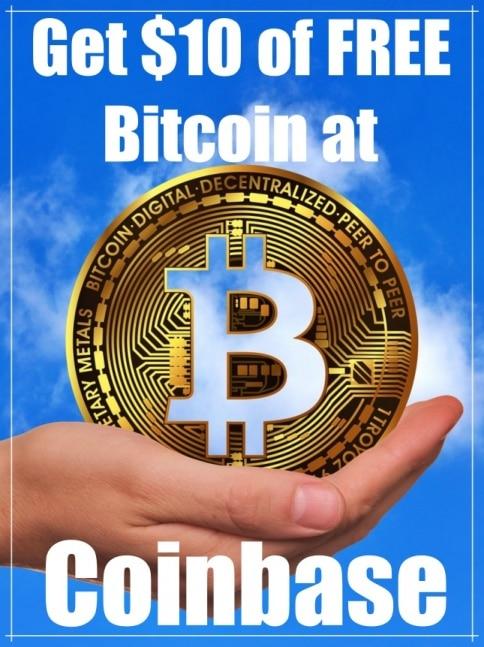 Get FREE Bitcoin at Coinbase