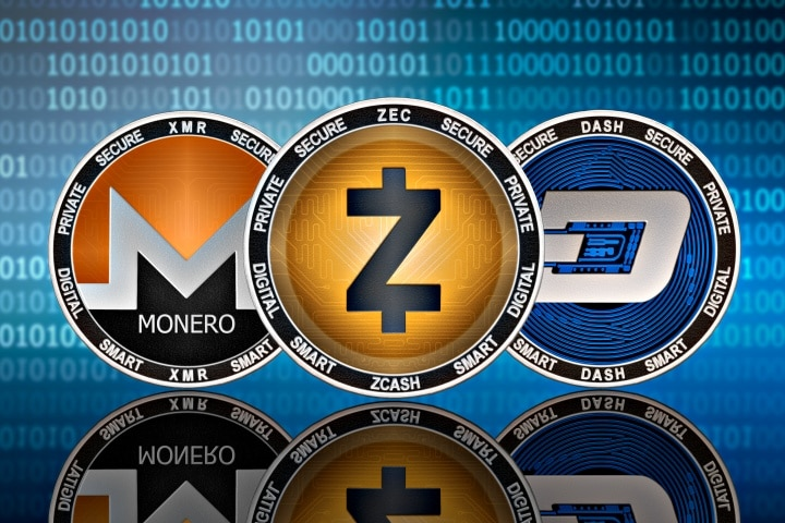 Monero ZCash and Dash. The 3 Best Privacy Altcoins.